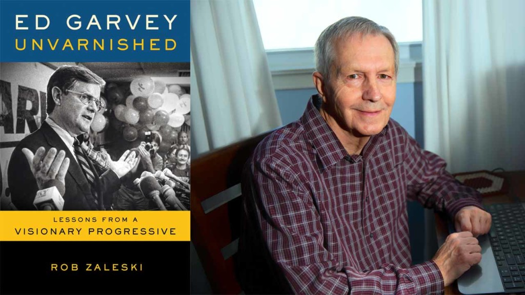Against the odds, Ed Garvey biography to be published