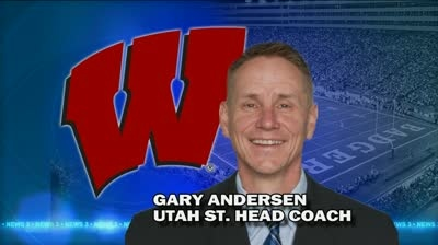 Report: Wisconsin to hire Utah State's Andersen as football coach