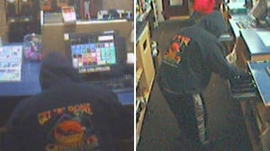 Stolen pickup linked to robbery, images released