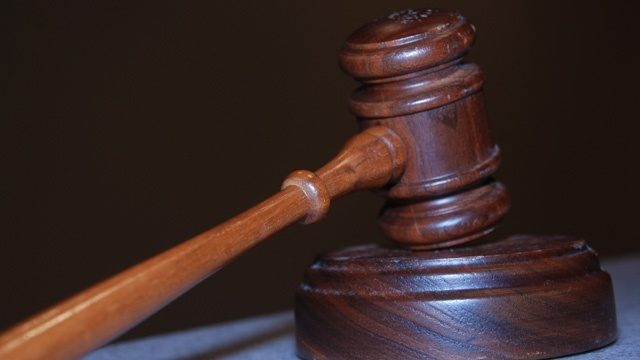 A photo of a gavel