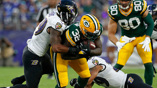 Rodgers sits again, Packers fall to Ravens