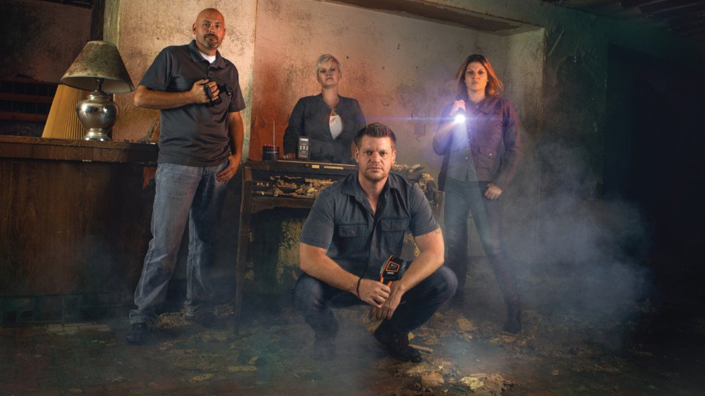 Former police officers couple instinct with investigative experience to search for the paranormal