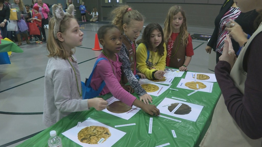 Girl Scouts celebrate century of cookie sales