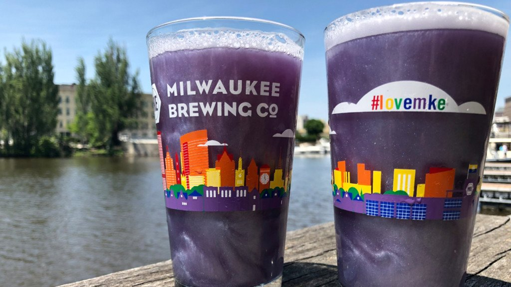 Milwaukee brewery releases purple glitter beer