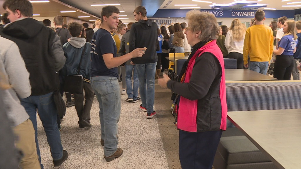 'I intend to stay here as long as I can': Grandma Betty sets example for Baraboo teens