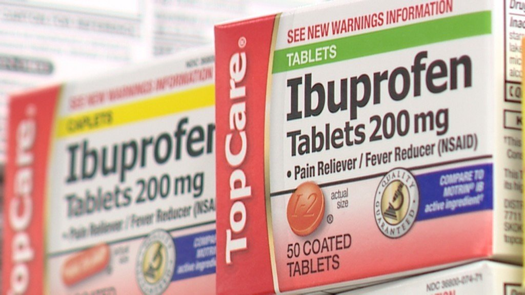 Study: Ibuprofen increases risk of heart attack by 31 percent