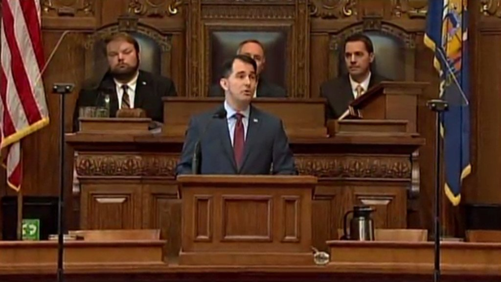 Walker hopes federal government shutdown can be avoided
