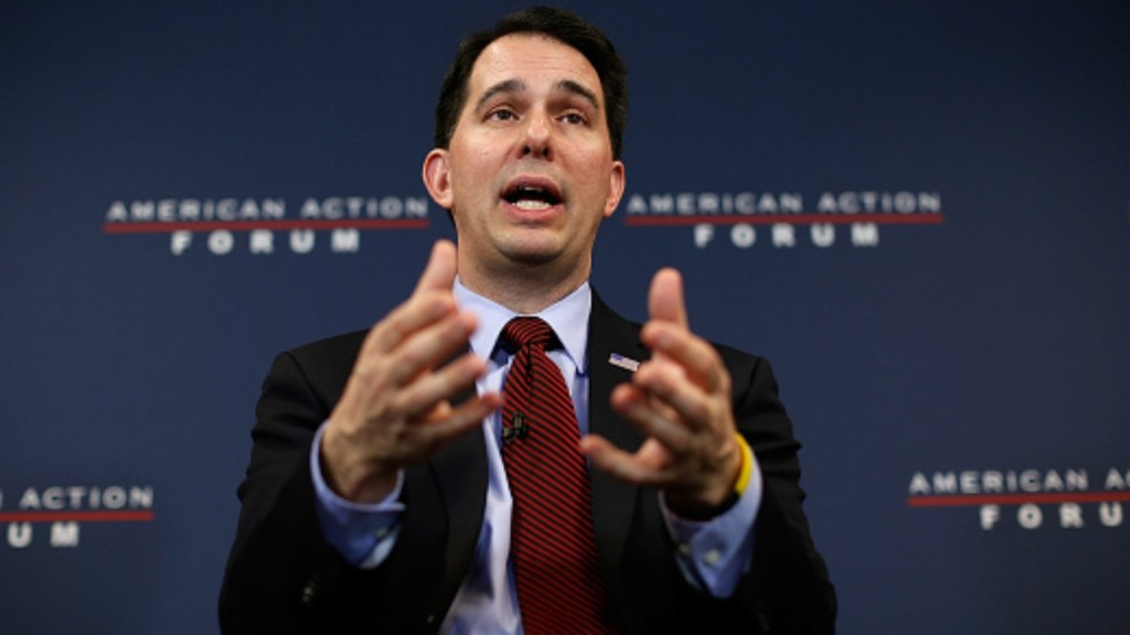 Walker hopes people will convince lawmakers on tuition cut