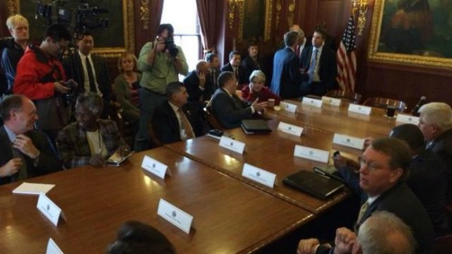 Governor, Republican leaders outline next term