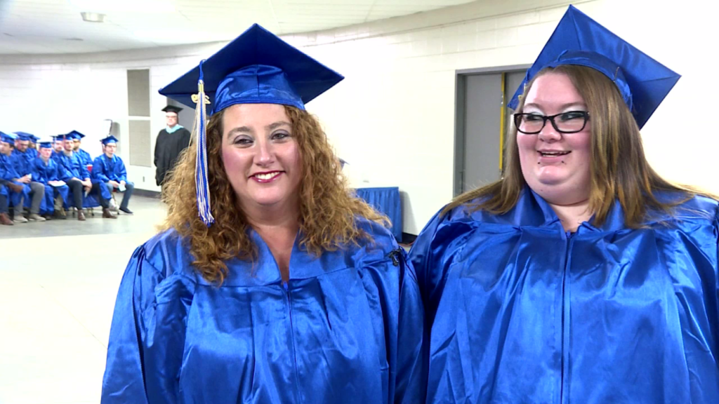 Mother-daughter team grab diplomas together at Madison College graduation
