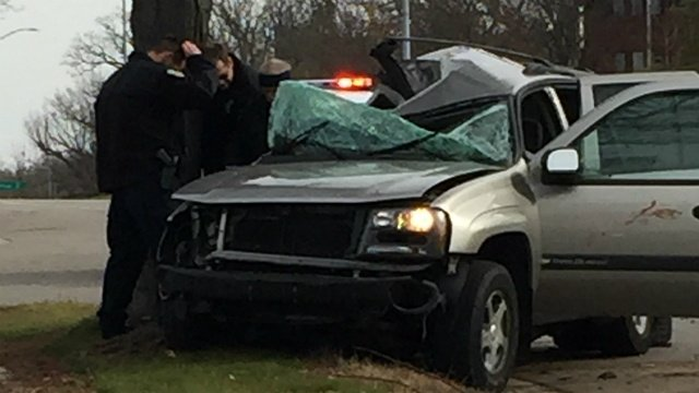 Police catch man who allegedly crashes into tree, flees