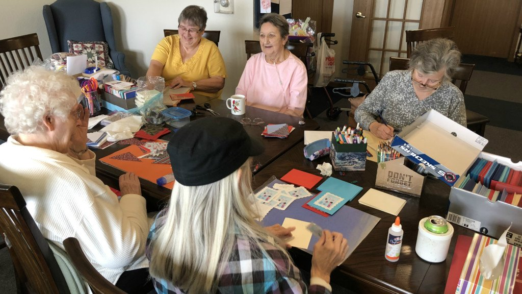 Do Something Good: Crafty friends make sure no veteran feels forgotten