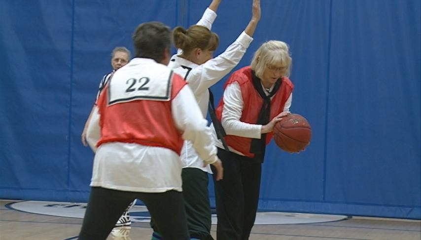Granny basketball offers on-court fun, friendship