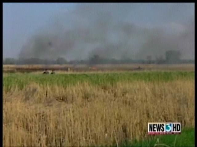 DNR deliberately setting fire to public land