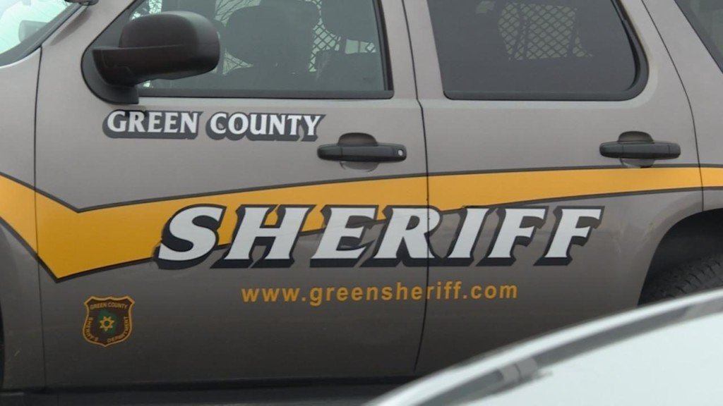 A generic Green County Sheriff's Department squad car