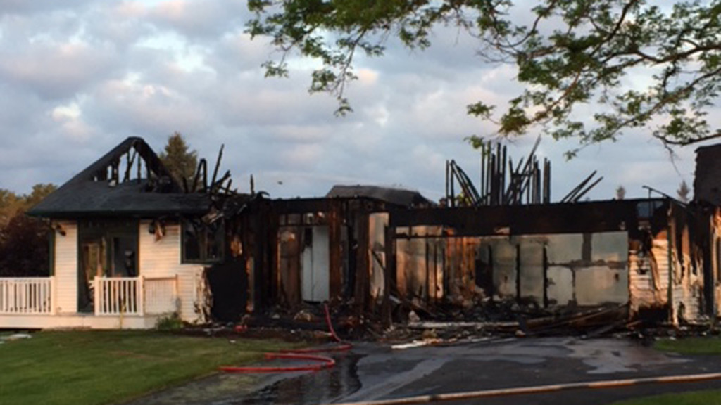 Structure fire damages two residential units in Green Lake