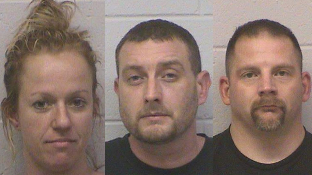 3 arrested in Green County in connection to meth trafficking organization, sheriff says