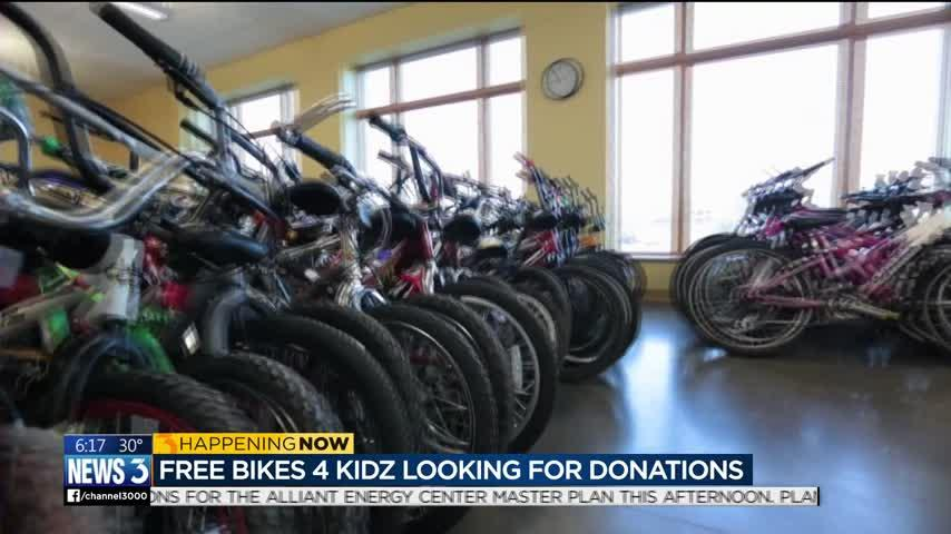 Thousands of bikes needed for annual 'Free Bikes 4 Kidz' initiative