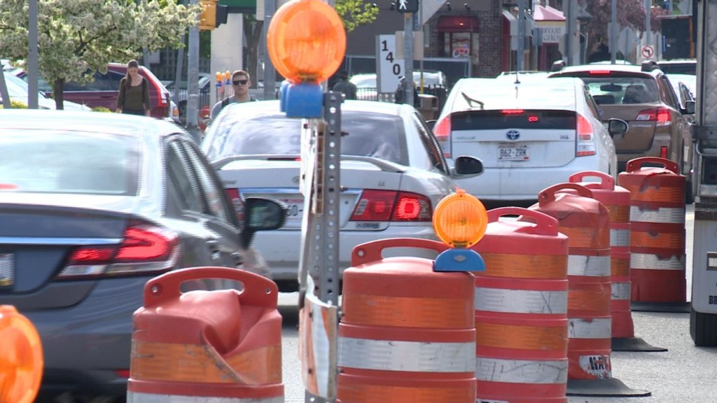 Police remind drivers to put cellphones away in work zones