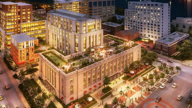 Mayor wants to move forward on Judge Doyle Square Project