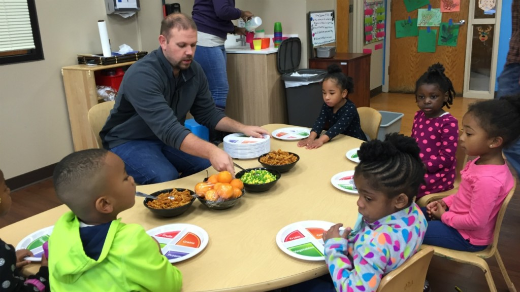 One City Early Learning centers introduce kids to healthy eating