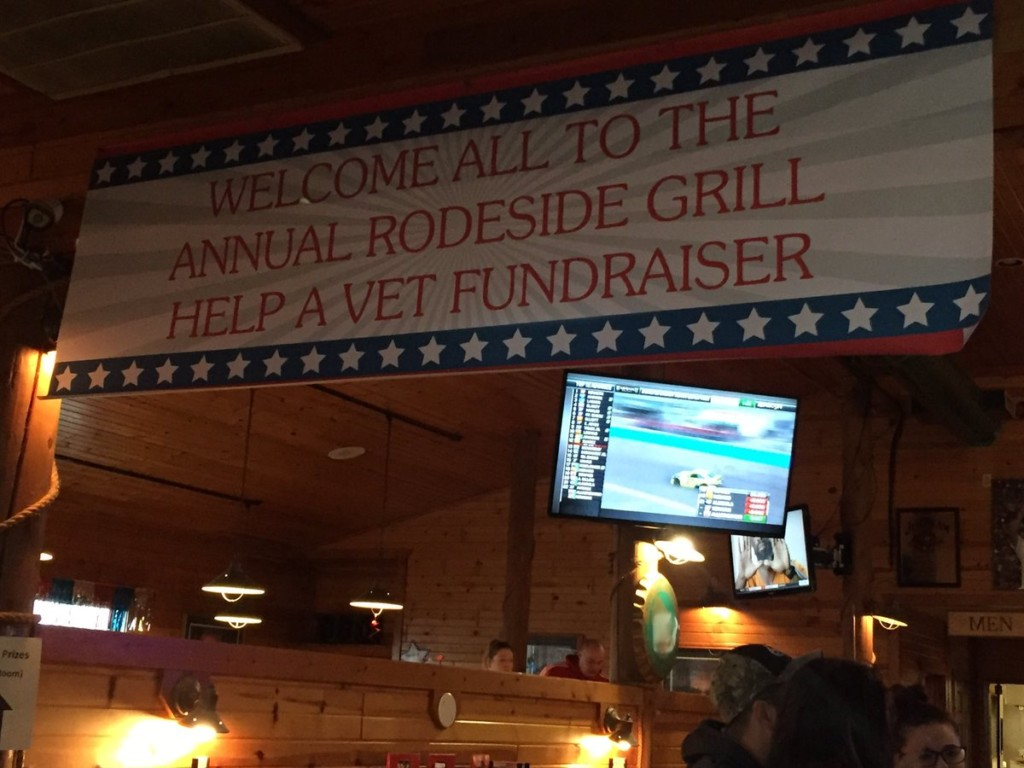 Vet teams up with local restaurant for annual Help a Vet Fundraiser