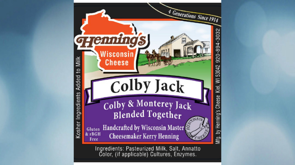 Colby Jack cheese recalled for pasteurizer malfunction