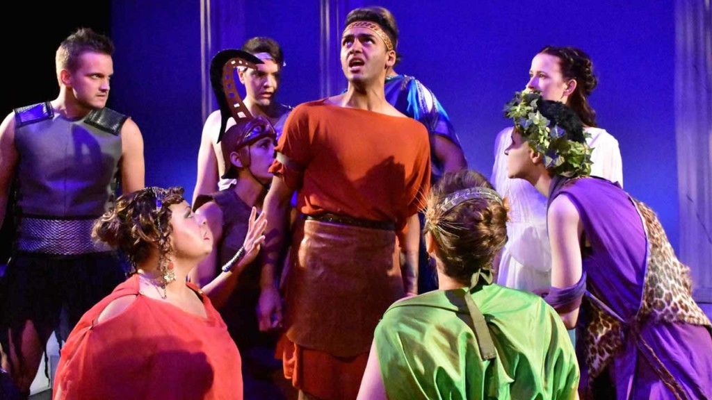 The God of Fire gets his due in original musical 'Hephaestus'