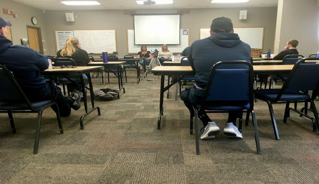 MPD officers hear from recovered heroin addict as part of new program training