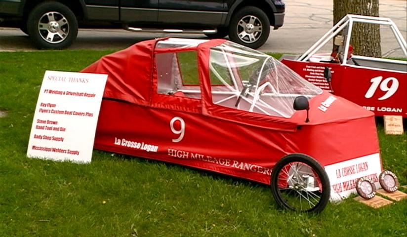 La Crosse students create 138 mpg vehicle