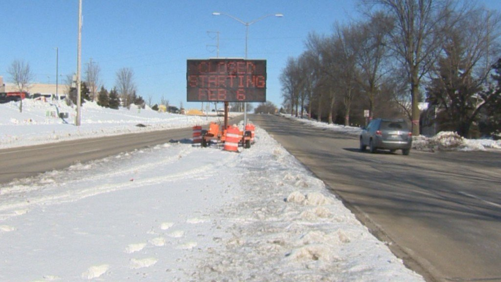 Businesses prepare for long closure of busy west side thoroughfare