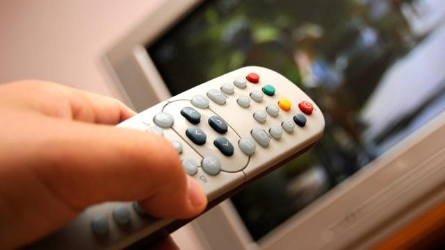 A generic television remote