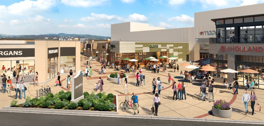 Hilldale starts redevelopment project; 2 more stores announced