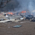 1 person injured, house leveled by explosion near Lodi, official says