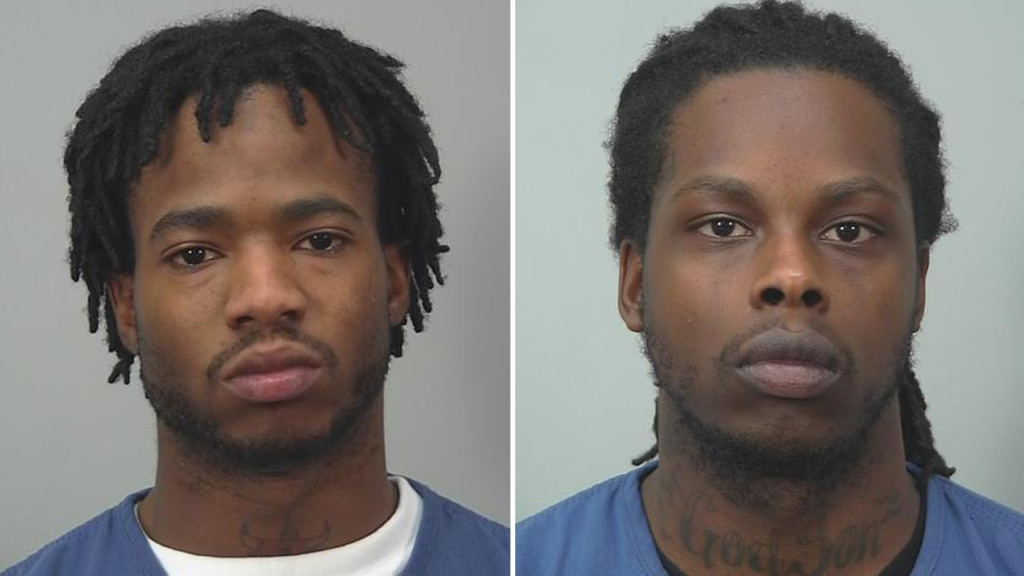 $14K, guns, luxury car seized; 2 men face charges in OD death investigation