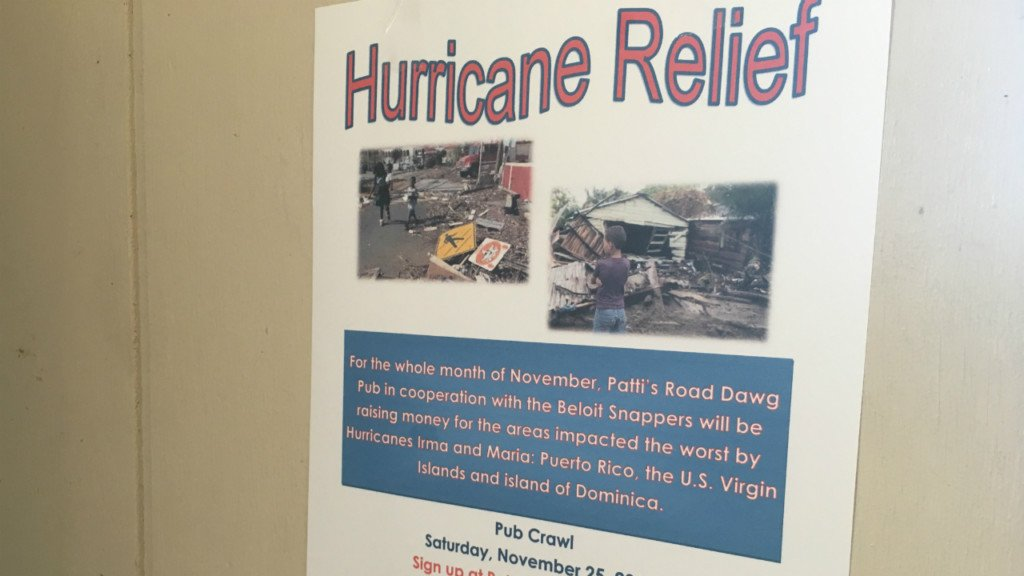 Beloit community raises money for hurricane relief in honor of Snappers players