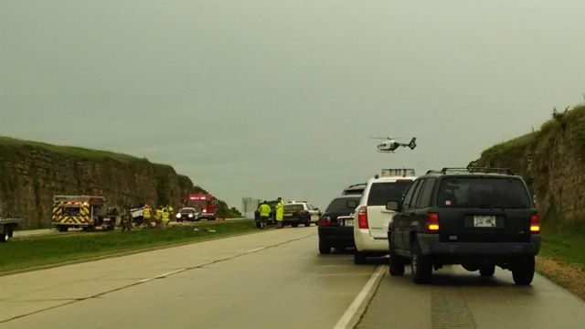 2 crashes close Hwy 151 in both directions Saturday