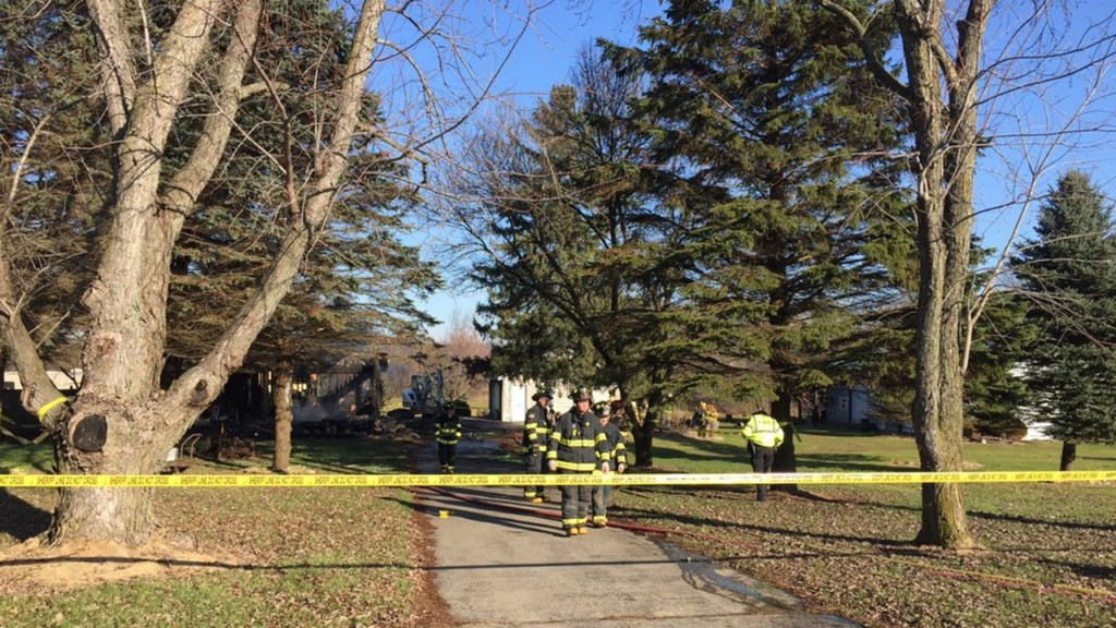 Body found in burned Rock County house, sheriff says