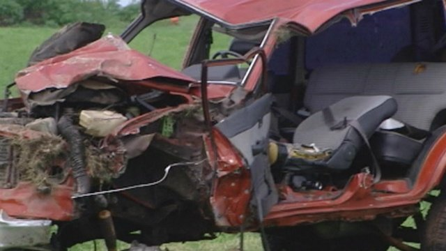 Crash closed Highway 12/18 east of Madison Tuesday afternoon