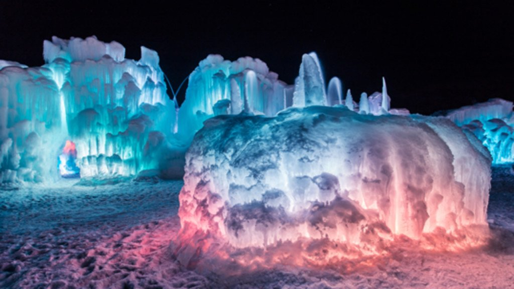 'Too cold, even for Ice Castles': Lake Geneva Ice Castles temporarily closed