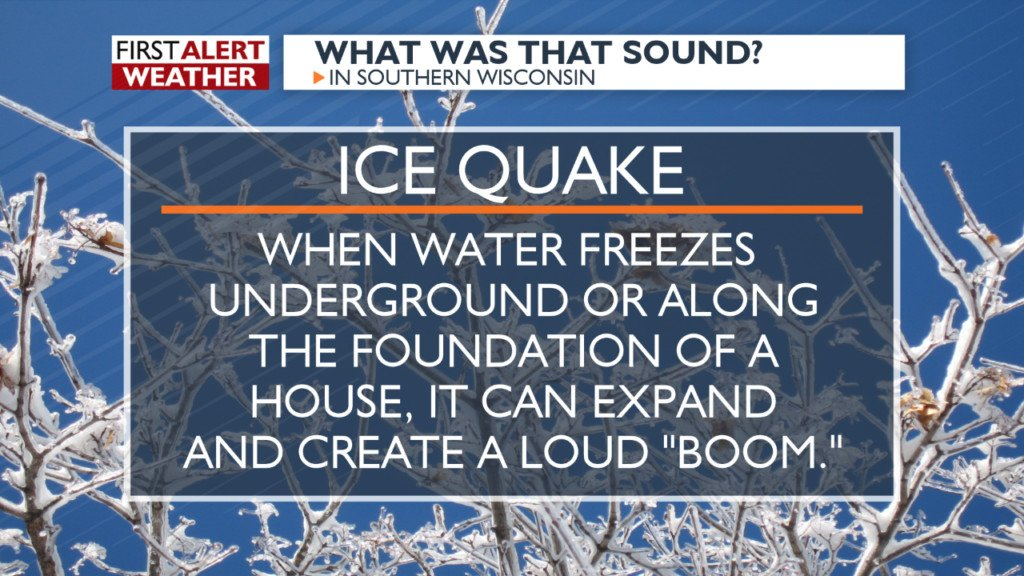 What's that boom? Cold winter temperatures cause ice quakes
