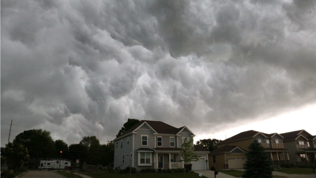Multiple power outages after severe weather sweeps through the area