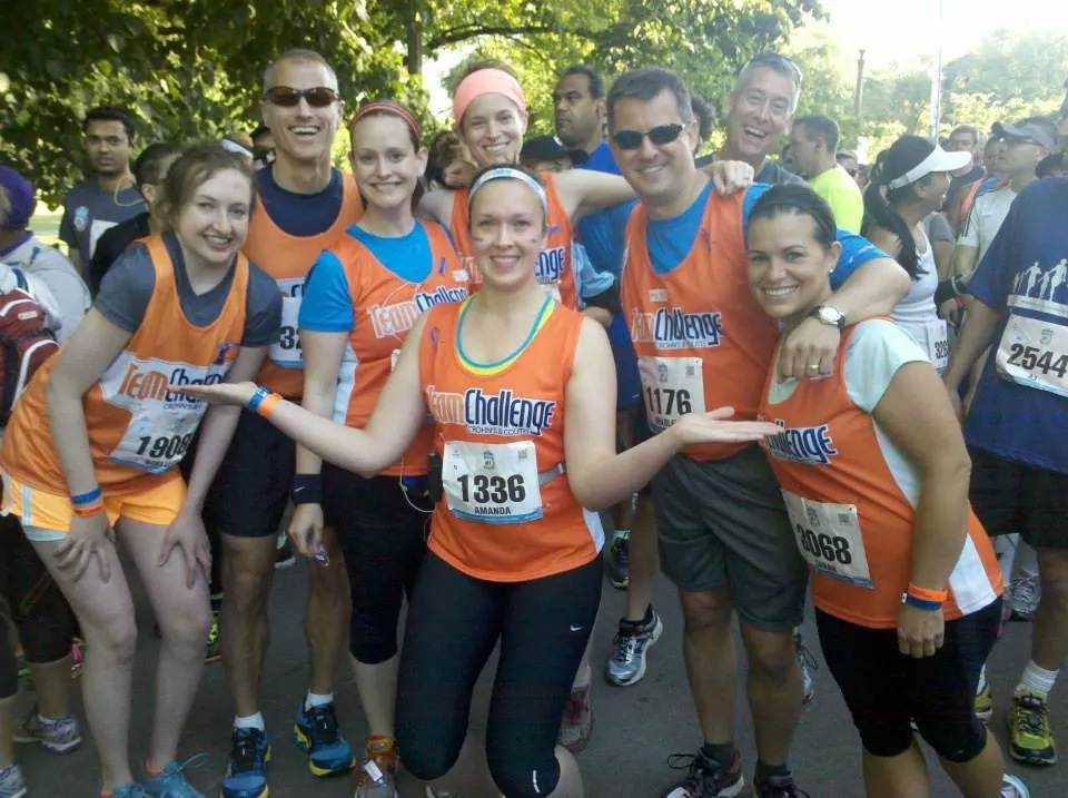 Training Together for a Cure