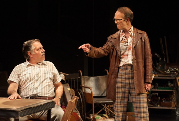 APT's 'American Buffalo' Is a Tale of Sound and Fury