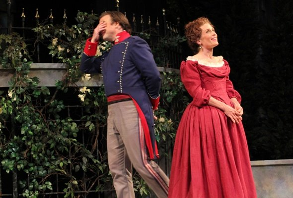 It's the Heart, Not the Funnybone, in APT's 'Much Ado'
