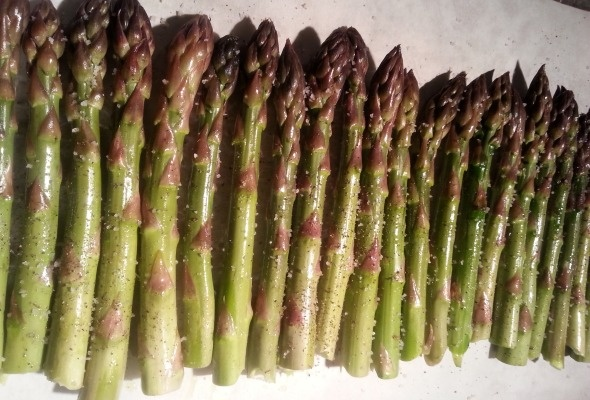 With Asparagus Here, It's Stalking Season
