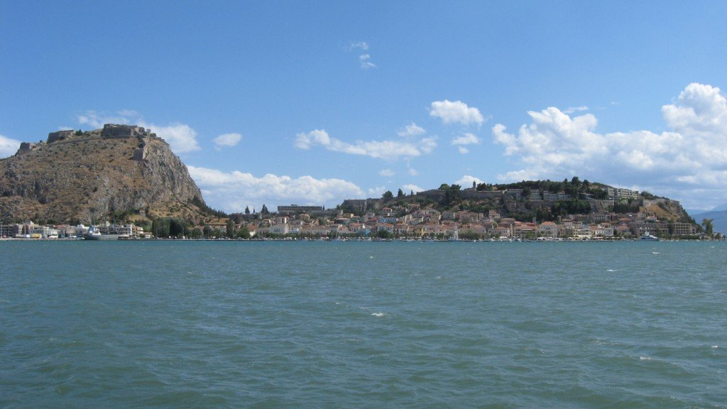 Greek Coastal Town Nafplio Is a Port of Pleasure