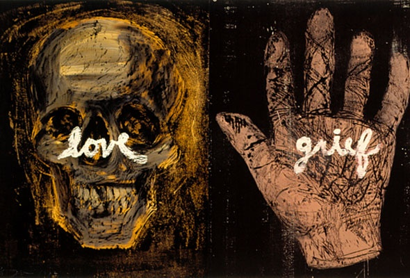 Power of Repetition: Jim Dine Skulls Pack the Chazen