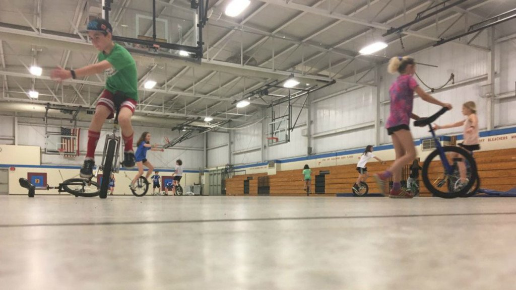 Unicyclist club leader shows what it means to #BeYou