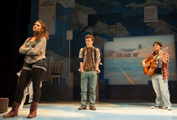 Forward Theater's 'From Up Here' Strains for Normalcy